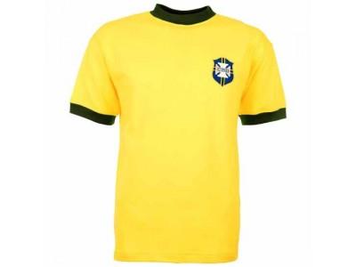 Brazil 1970 World Cup Retro Football Shirt