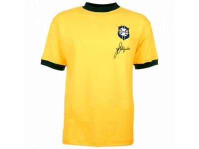 Brazil 1970 World Cup Jairzinho Retro Football Shirt