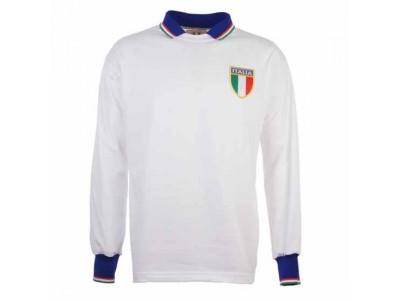 Italy 1983 Away Retro Football Shirt