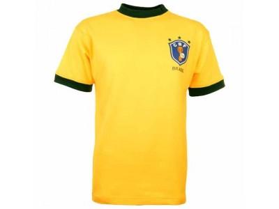 Brazil 1982 World Cup Retro Football Shirt