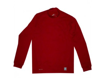 pro combat therma mock top - red