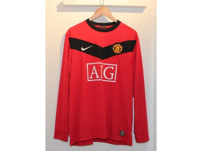 Manchester United home jersey L/S 2009/10 - Nani 17