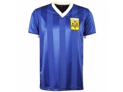 Argentina 1986 World Cup Away Retro Football Shirt