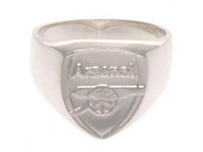 Arsenal FC Sterling Silver Ring Medium