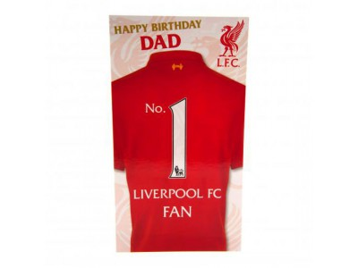 Liverpool FC Birthday Card Dad