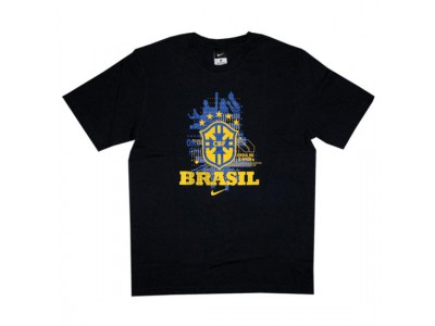 Brazil number 10 tee World Cup 2010 - obsidian