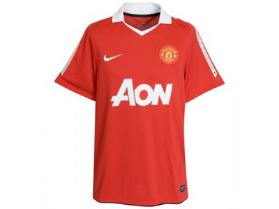 Manchester United home jersey 2010/11 - youth