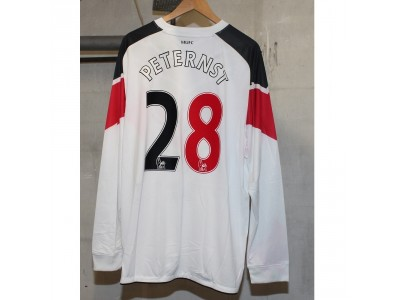 Manchester United away jersey L/S 2010/11 - Peternst 28