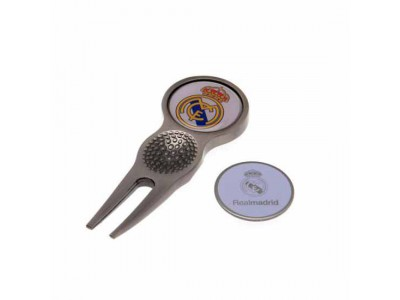 Real Madrid FC Divot Tool & Marker