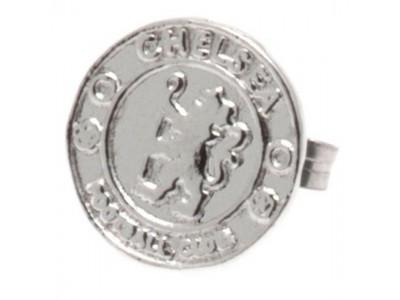 Chelsea FC Sterling Silver Stud Earring