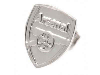 Arsenal FC Sterling Silver Stud Earring