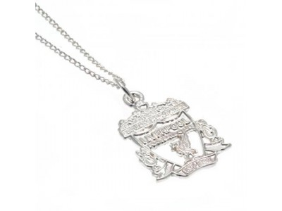 Liverpool FC Sterling Silver Pendant & Chain CR