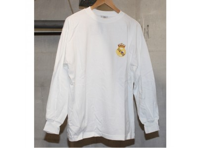 Real Madrid home shirts L/S 1960s - AANSI 15