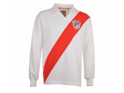 River Plate 1960S-1970S Retro Football Shirt