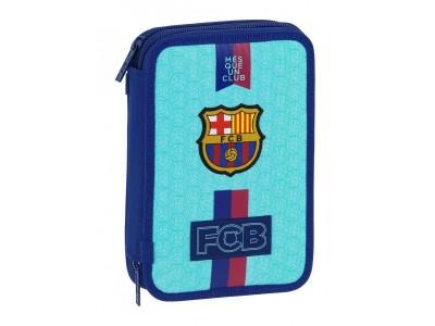 FC Barcelona filled pencil case - azul