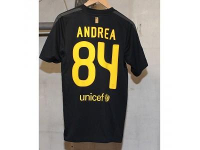 FC Barcelona away jersey 2011/12 - Andrea 84