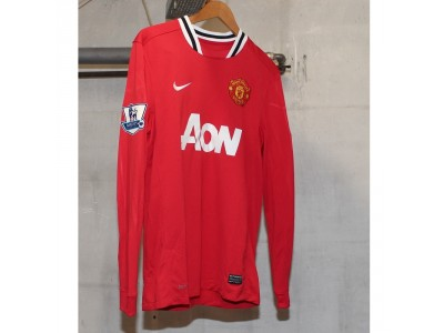 Manchester United home jersey L/S 2011/12 - PL badges