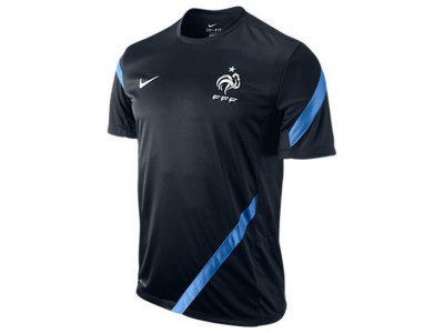 France training top EURO 2012 navy