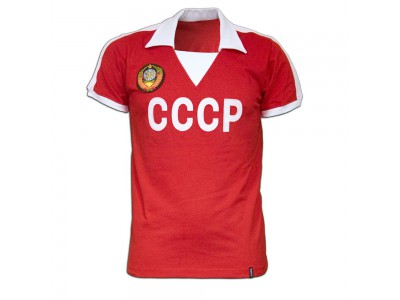 Sovjet CCCP 1980's Short Sleeve Retro Shirt