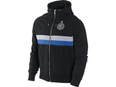 Inter hoody top 2012/13 - black