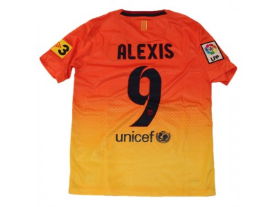 Barcelona away jersey 2012/13 - youth - Alexis 9