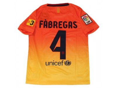 Barcelona away jersey 2012/13 - youth - Fabregas 4
