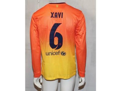 Barcelona away jersey L/S 2012/13 - Xavi 6