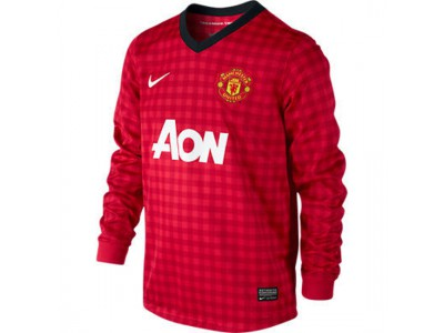 Manchester United home jersey Long Sleeve 2012/13 - youth