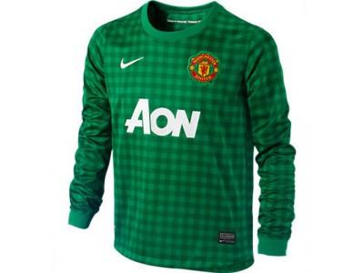Manchester United goalie jersey 2012/13 - green