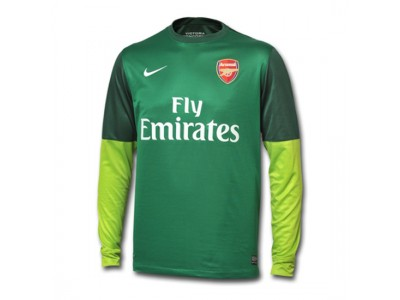 Arsenal goalie jersey 2012/13 - green