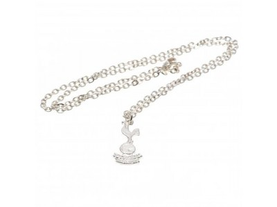 Tottenham Hotspur FC Silver Plated Pendant & Chain