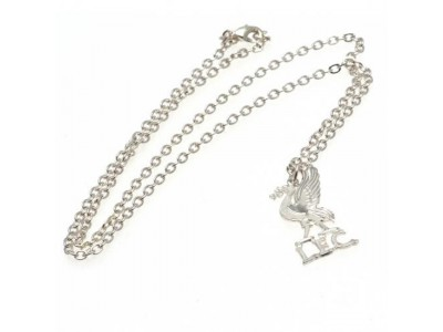 Liverpool FC Silver Plated Pendant & Chain LB