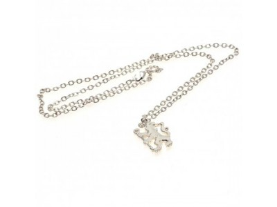 Chelsea FC Silver Plated Pendant & Chain LN