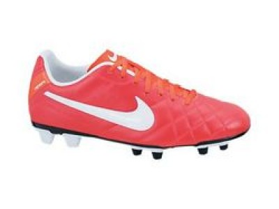 Tiempo Rio FG Cleats - Red