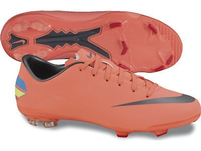 Mercurial Glide FG Ronaldo soccer boots - mango - youth