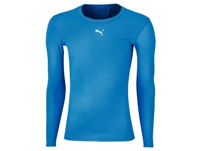 Puma Compression Top L/S - Men's, Blue