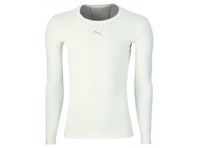 Puma Compression Top L/S - Men's, White