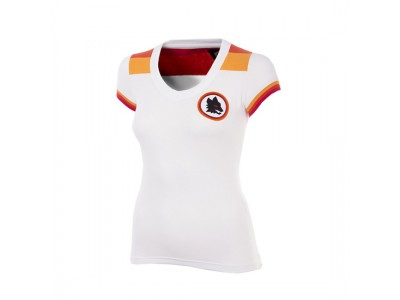 AS Roma 1978 - 79 Away Womens Short Sleeve Retro Football Shirt