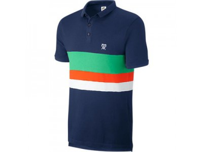 CR7 Slim Collar Pique Mens Polo Shirt