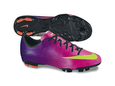 Mercurial Victory FG Cleats - Ronaldo, Fireberry, Youth