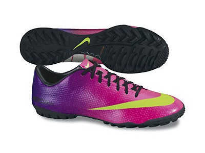 Mercurial Victory TF Cleats - Ronaldo, Fireberry