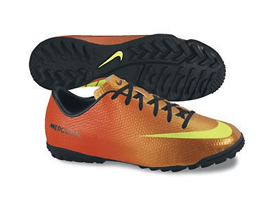 Mercurial Victory TF Cleats - Neymar, Orange, Youth