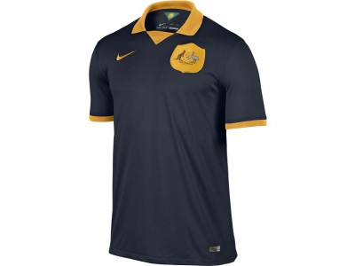 Australia Away Jersey 2014 World Cup