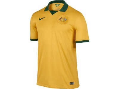 Australia Home Jersey 2014 World Cup