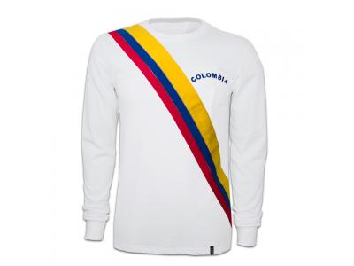 Colombia 1973 Long Sleeve Retro Shirt