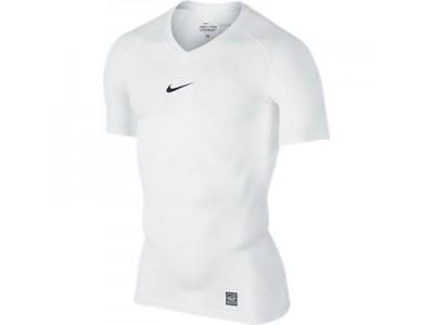 Nike Pro Combat Top S/S - Men's, White