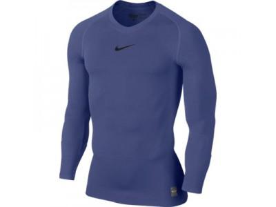 Nike Pro Combat long sleeve top - navy