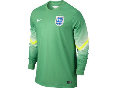 England Home Goalkeeper Jersey 2014 World Cup