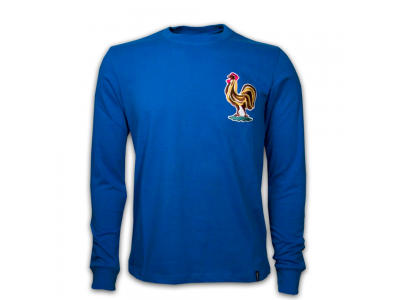 France 1970's Long Sleeve Retro Shirt