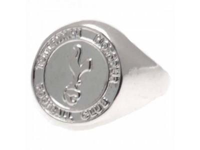 Tottenham Hotspur FC Silver Plated Crest Ring Medium